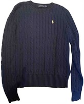 Polo Ralph Lauren Navy Cotton Knitwear