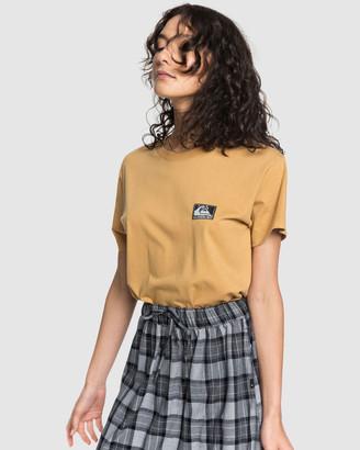 Quiksilver Womens Standard Label T Shirt