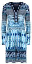 Hale Bob Embellished Printed Dress