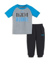 Under Armour Boys' I'm No Rookie Tee & French Terry Jog Pants Set - Sizes 2T-4T