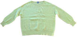 FTC Cashmere Yellow Cashmere Knitwear for Women