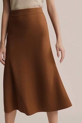 Witchery Flare Knit Skirt