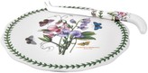 Portmeirion Botanic Garden 2-pc. Cheese Plate & Knife Set