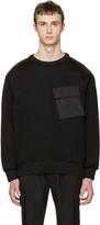 Juun.J Black Cargo Pocket Pullover