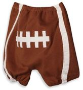 Mud Pie Diaper Cover with Football Applique