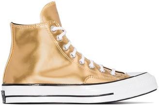 Converse Chuck Taylor 70 metallic high top sneakers