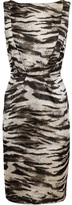 Lanvin zebra print dress