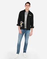 Express Los Angeles Lakers Nba Twill Shirt Jacket