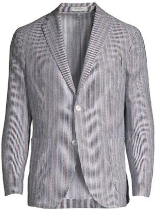 Boglioli Multi-Color Stripe Sport Jacket