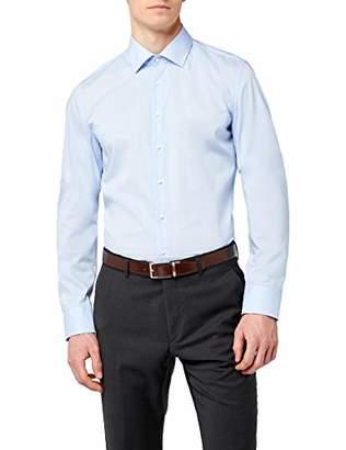 Seidensticker Men's Dress Shirt Formal Shirt Business Shirt Slim Fit Long Sleeve Collar Kent Non-Iron