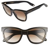 Givenchy Women's 56Mm Cat Eye Sunglasses - Black