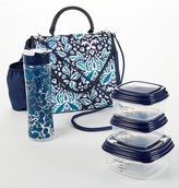 Fit & Fresh Winona Floral Insulated Lunch Bag Kit