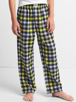 Plaid flannel PJ pants