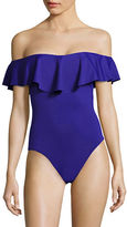 Trina Turk Off-The-Shoulder Swimsuit
