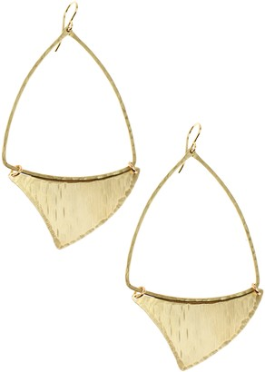 Nashelle Shark Fin Drop Earrings