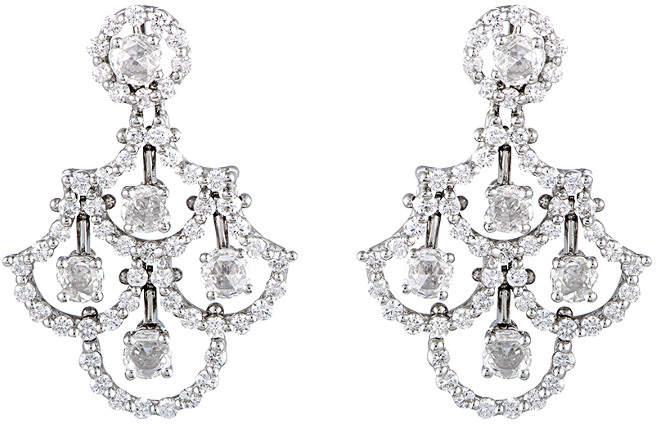 Damiani 18K 2.50 Ct. Tw. Diamond Earrings