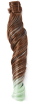 Hairdo. by Jessica Simpson & Ken Paves Chocolate Copper & Light Green Wavy Ponytail Hair Extension