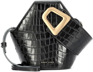 Danse Lente Johnny Mini croc-effect leather tote