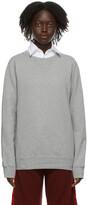 Thumbnail for your product : Maison Margiela Grey Classic Sweatshirt