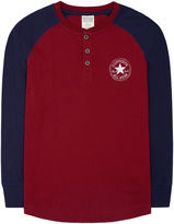 Converse Boys Graph Henley Top