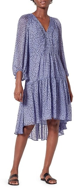 Joie Harlie Floral Tunic Dress