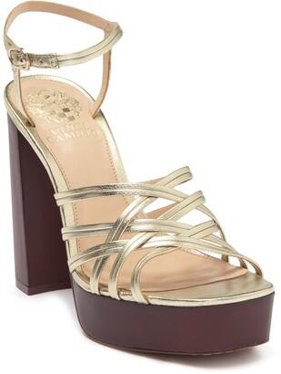 Vince Camuto Larriss Strappy Platform Heel Sandal