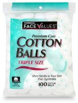 Harmon Face ValuesTM 100-Count Triple Size Cotton Balls