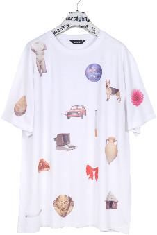 "Starstyling starstyling - ""Mankind"" Bigshirt - white | 5XL - White"