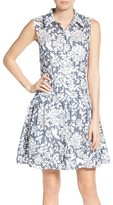 Betsey Johnson Women's Fit & Flare Shirtdress