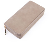 Riah Fashion Double Zipper Wallet