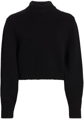 The Row Tabeth Cashmere Mockneck Sweater