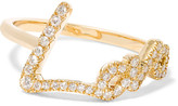 Stephen Webster + Tracey Emin Love 18-karat Gold Diamond Ring - 6