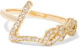Stephen Webster + Tracey Emin Love 18-karat Gold Diamond Ring - 7