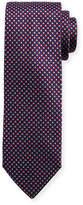 Brioni Textured Diagonal Box Neat Tie