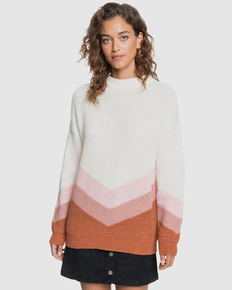 Roxy Womens Open Door Knit Jumper