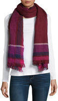 MIXIT Mixit Reversible Oblong Cold Weather Scarf
