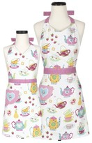 Handstand Kitchen Tea Party Adult & Kid Apron Set