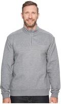 Columbia Big Tall Hart Mountaintm II 1/2 Zip (Charcoal Heather) Men's Long Sleeve Pullover