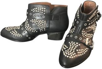 Les Petites Black Leather Boots
