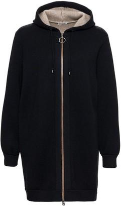 Brunello Cucinelli Zipped Hooded Jacket
