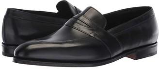 John Lobb Adley Loafer (Black) Men's Slip on Shoes