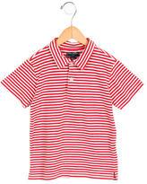 Oscar de la Renta Boys' Striped Collared Polo