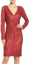 Vera Wang Women's Lace Sheath Dress