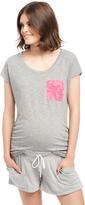 Motherhood Pocket Tee Maternity Shirt