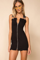 superdown Darcie Overall Mini Dress