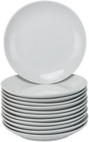 10 Strawberry Street 12-pc. Coupe Salad Plate Set
