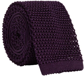 Ralph Lauren Purple Label Silk Knit Tie