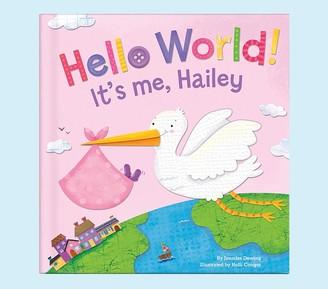 Pottery Barn Kids Girl Hello World Personalized Book