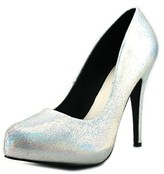 Michael Antonio Launey Women Open Toe Synthetic Platform Heel.