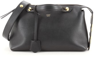 Fendi By The Way Satchel Leather with Chain Detail Small